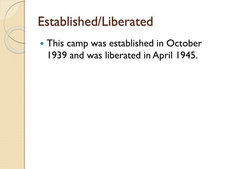 Established/Liberated