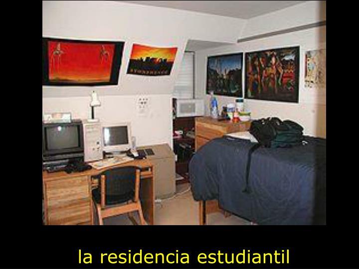 la residencia estudiantil