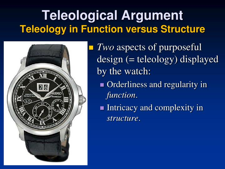 Teleological Argument