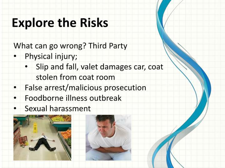 Explore the Risks