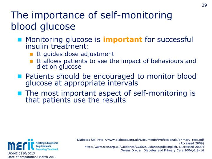 The importance of self-monitoring