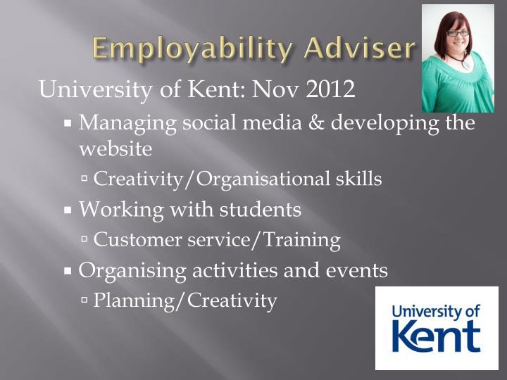 Employability Adviser