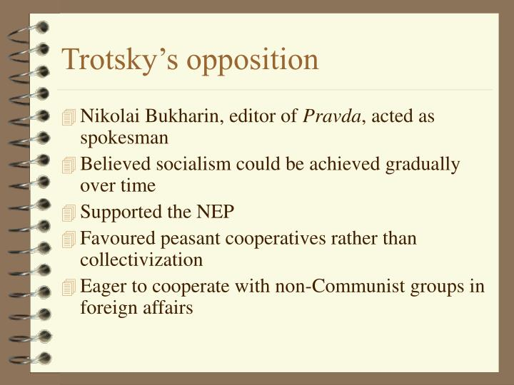 Trotsky's opposition
