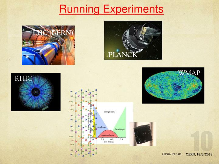Running Experiments