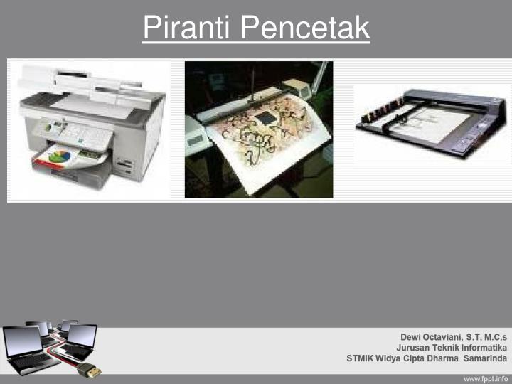 Piranti Pencetak