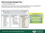 ohio university strategic plan