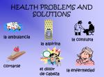health problems and solutions1