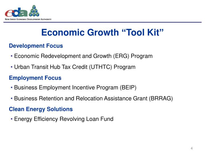 "Economic Growth ""Tool Kit"""