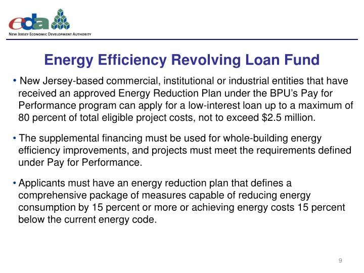 Energy Efficiency Revolving Loan Fund