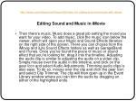 http vimeo com videoschool lesson 36 video 101 editing sound and music with imovie