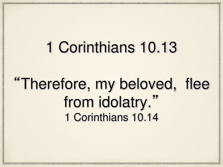1 Corinthians 10.13