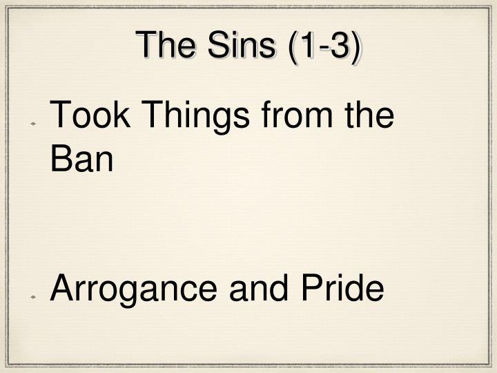 The Sins (1-3)