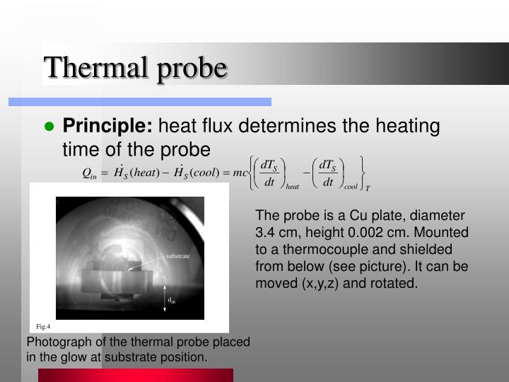Thermal probe