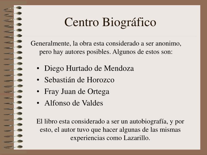 Centro Biográfico