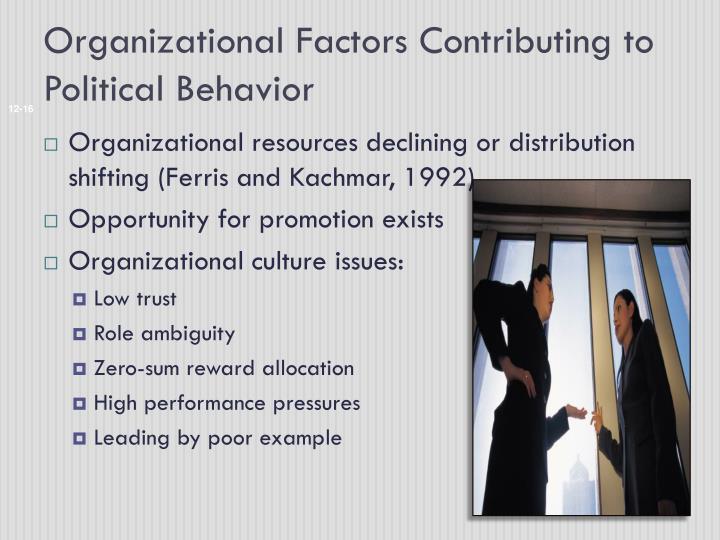 Organizational Factors