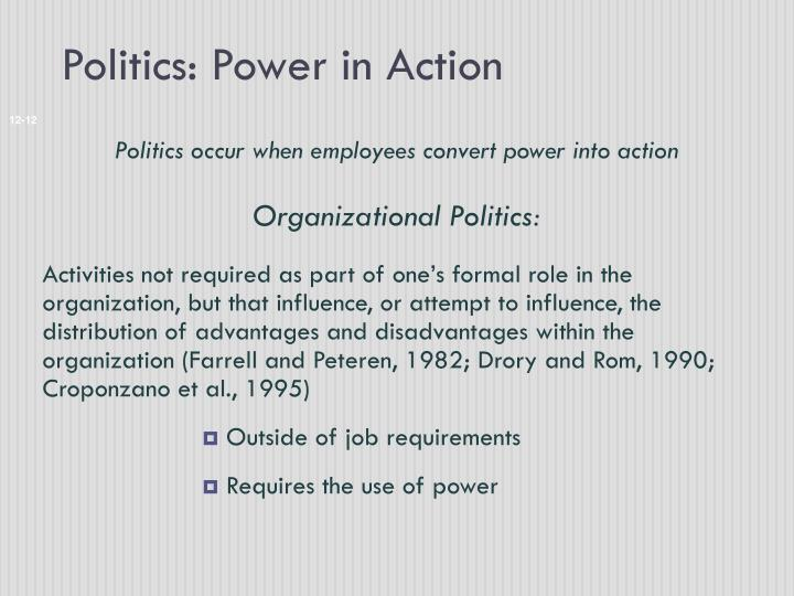 Politics: Power in Action