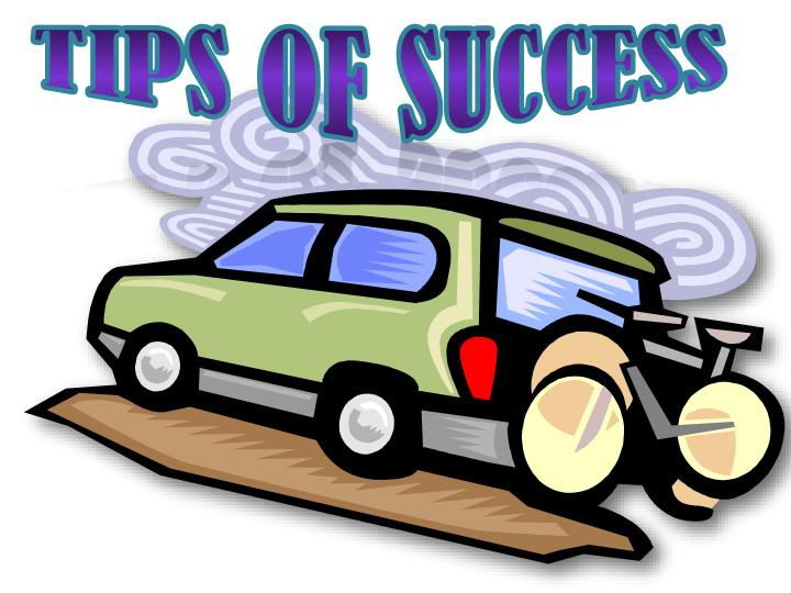 Tips of Success