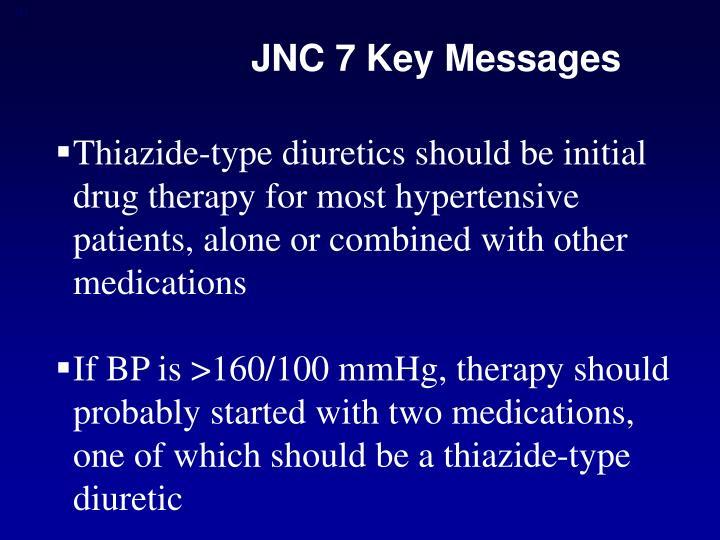 JNC 7 Key Messages