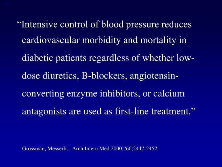 """Intensive control of blood pressure reduces"