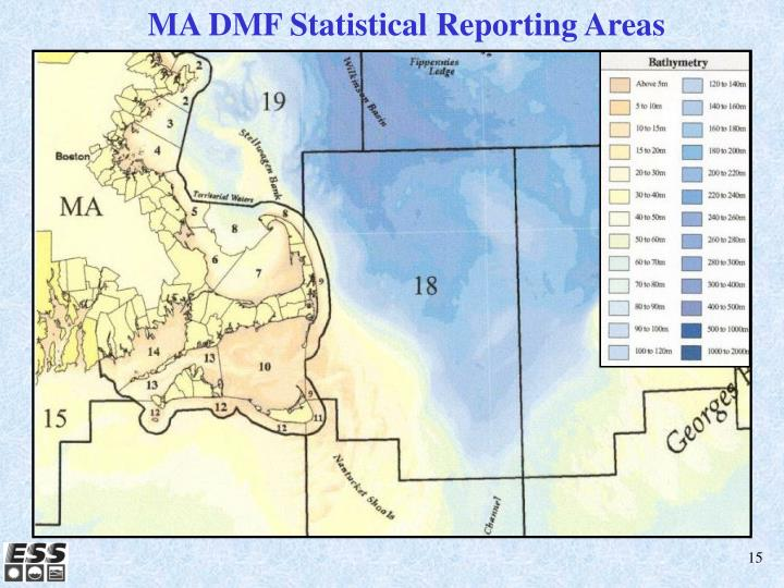 MA DMF Statistical Reporting Areas