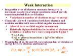 weak interaction1