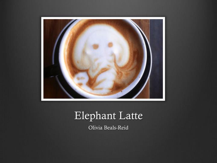 Elephant Latte