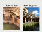 roman bath bath england