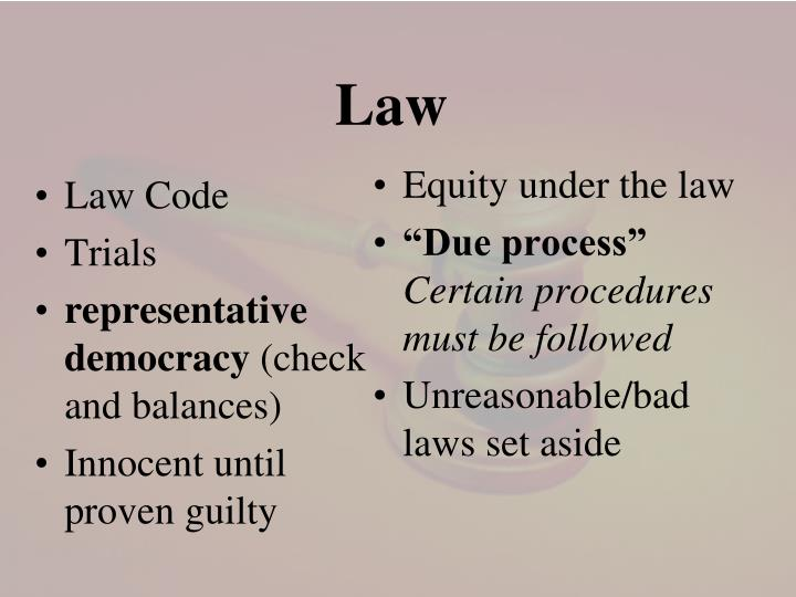 Law Code