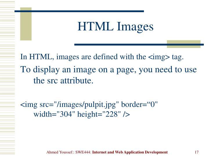 HTMLImages