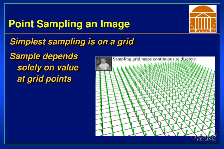 Point Sampling an Image