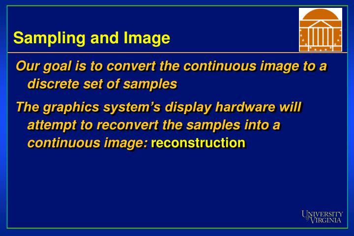 Sampling and Image