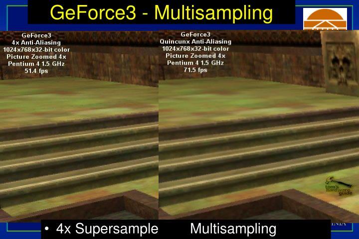 GeForce3 - Multisampling