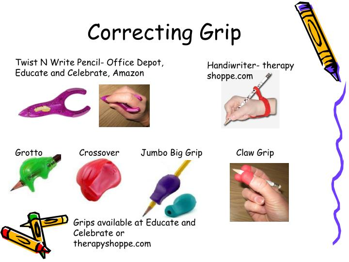 Correcting Grip