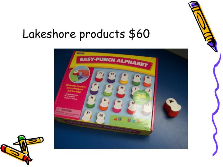Lakeshore products $60