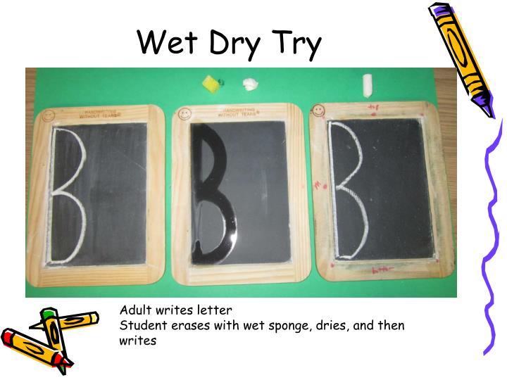 Wet Dry Try