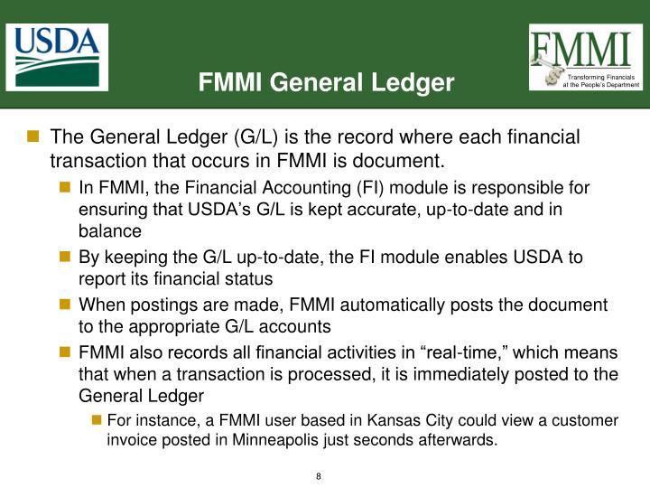 FMMI General Ledger