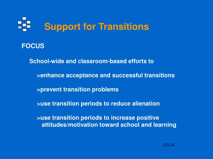 Support for Transitions