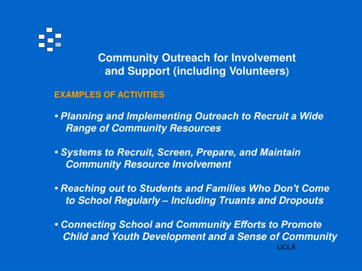 Community Outreach for Involvement