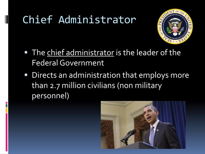 Ppt roles of the president powerpoint presentation id - Define executive office of the president ...