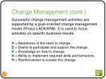 change management cont1