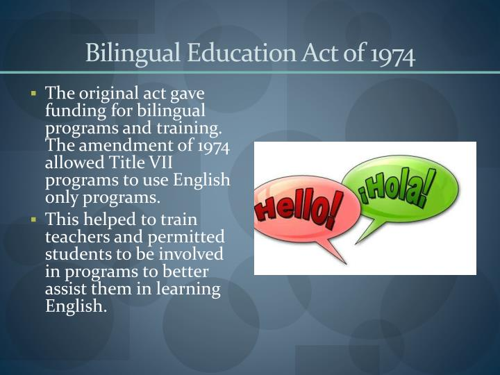 Bilingual Education: Effective Programming for Language-Minority Students