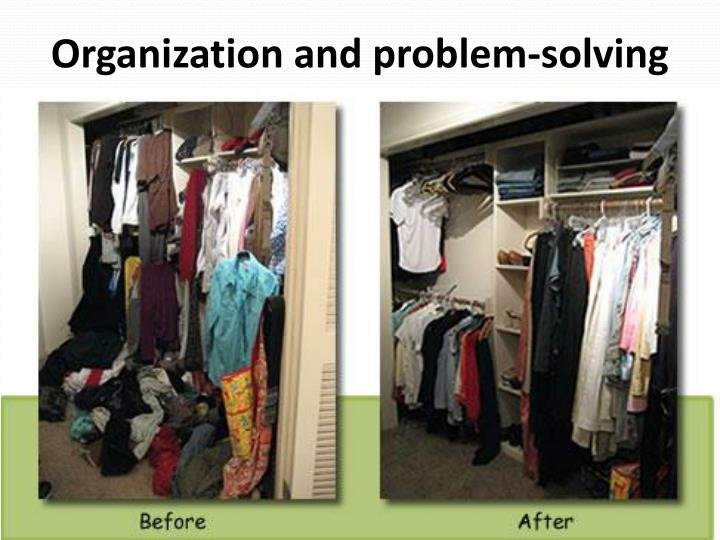 Organization and problem-solving