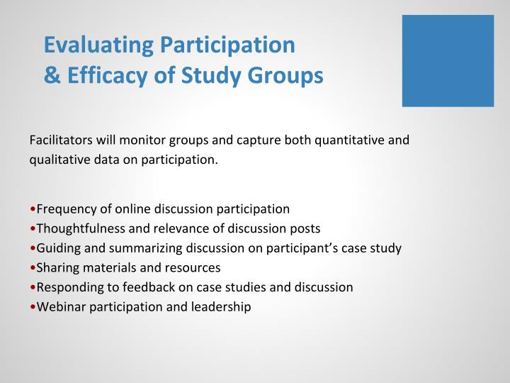 Evaluating Participation