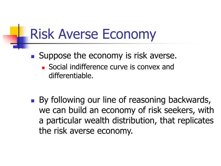 Risk Averse Economy