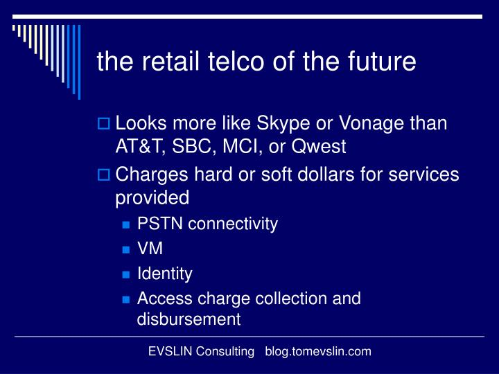 the retail telco of the future