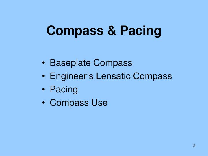 Compass pacing1