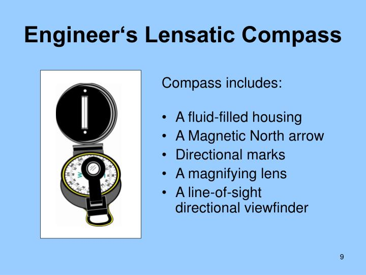 Engineer's Lensatic Compass