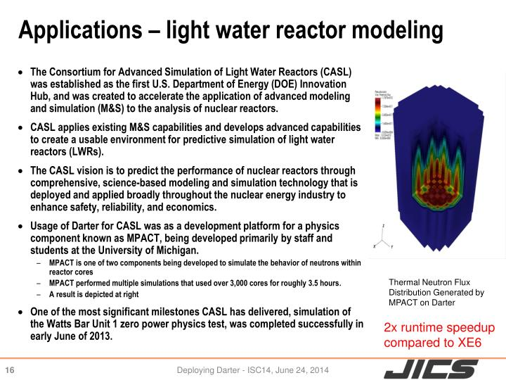 Applications – light water reactor modeling