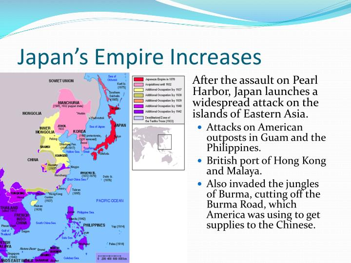 Japan's Empire Increases