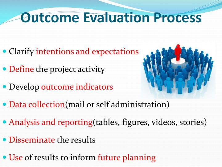 Outcome Evaluation Process